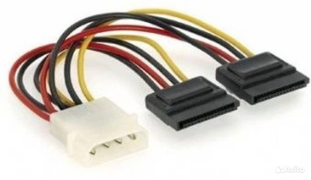 Кабель питания CC-SATA-PSY, 2*Serial ATA 15 cm power cable. Компьютеры и п