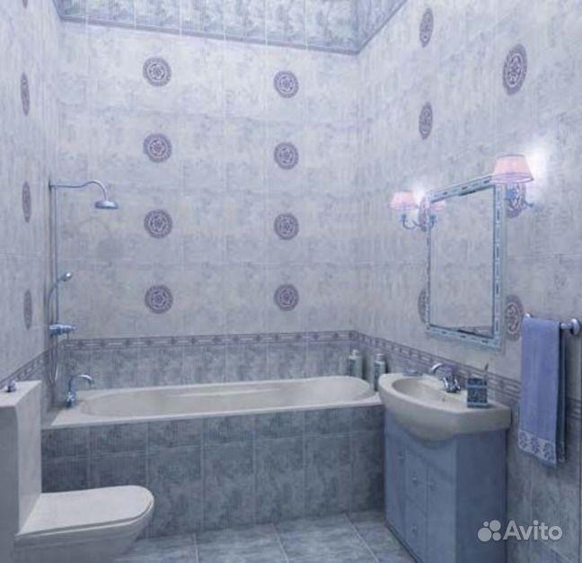 Дизайн ванной с кафелем