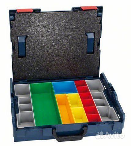 Кейс bosch L-boxx 13 цветных владышей sortimo.  Санкт-Петербург