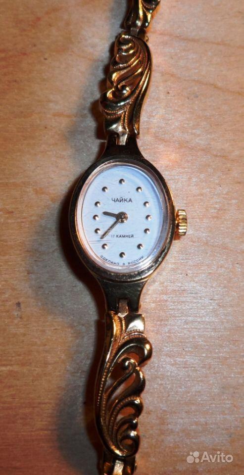 Часы наручные женские позолоченные