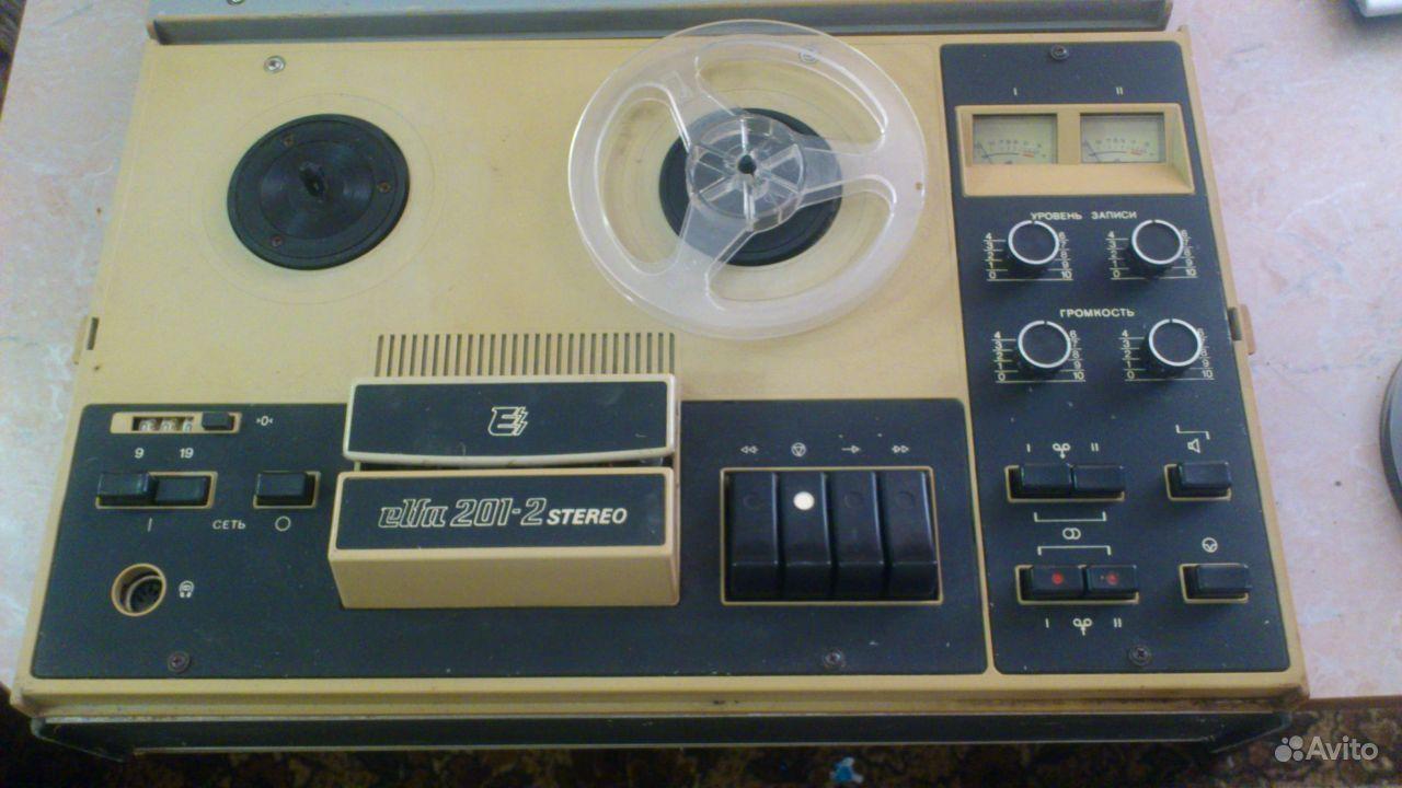 Катушечные магнитофоны — фотография