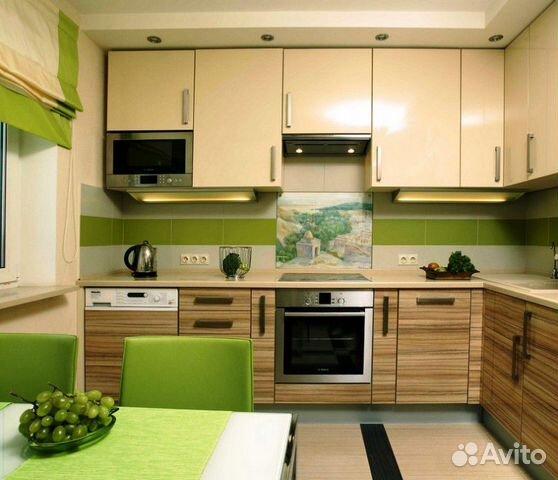 Дизайн кухни 11 кв м угловая