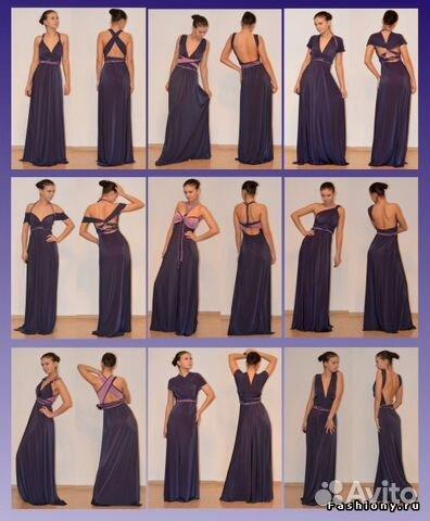 Платье трансформер своими руками мастер класс