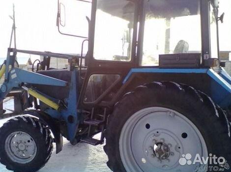 Трактор мтз - 82.1 с куном новый 2008 года.