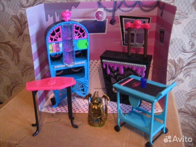 Фото мебель для кукол монстер хай своими