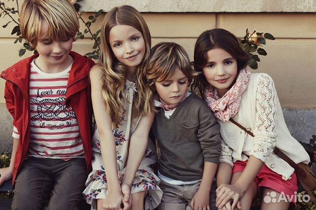 Много модных детей