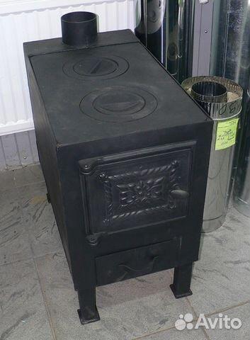 Железная варочная печка