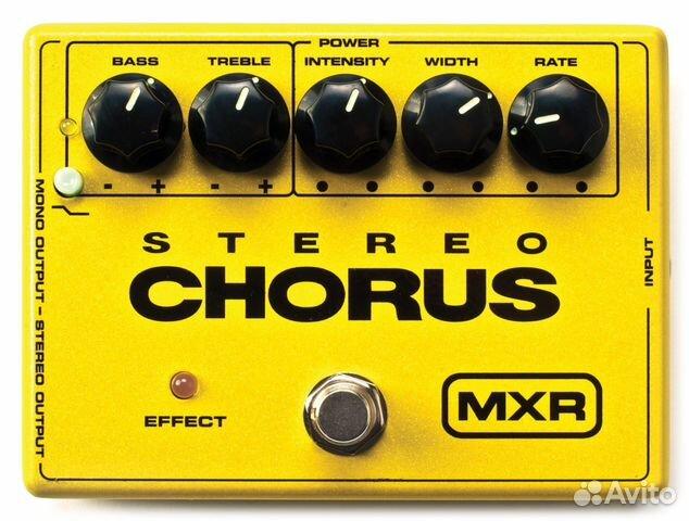 Dunlop, MXR, M134, Stereo Chorus, педаль, эффект 89787870960 купить 1