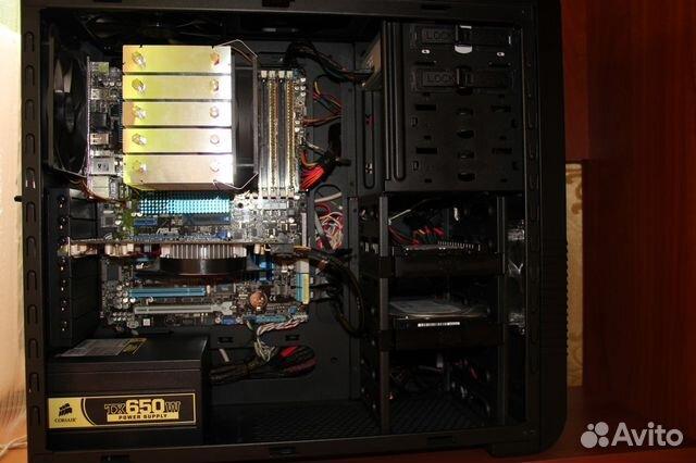 Игровой системный блок i7-2600 8 ядер