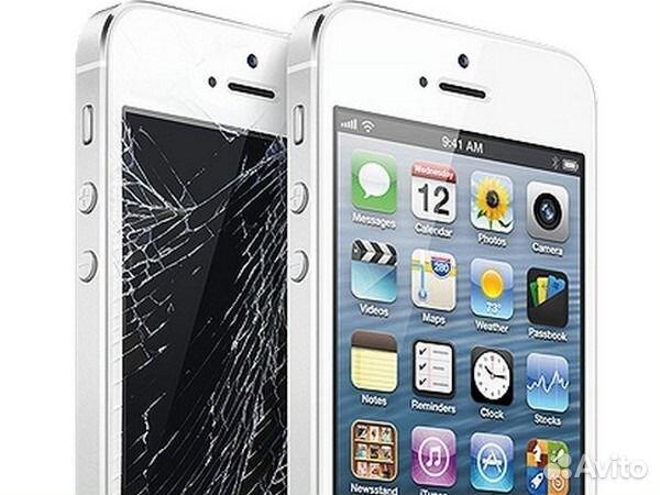 Заменить стекло на iphone 5s