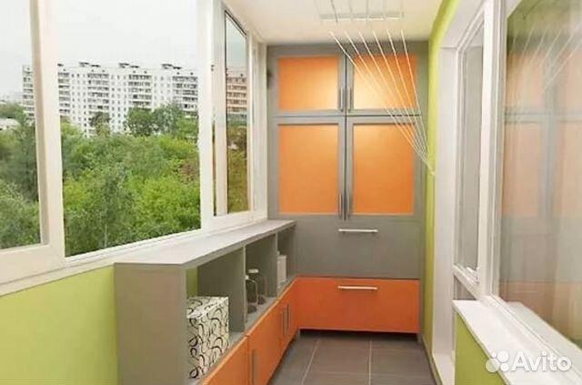 Дизайн шкафов на балкон