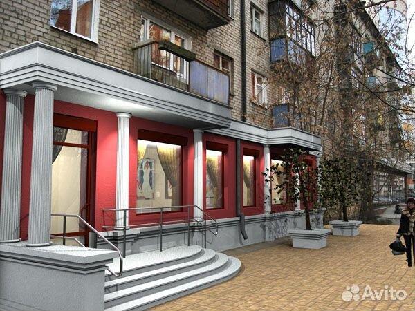 Варианты фасада для магазина 441782643