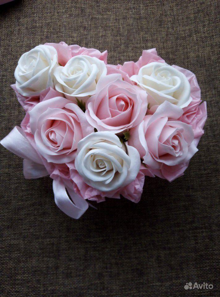 Мыльные цветы купить на Зозу.ру - фотография № 9