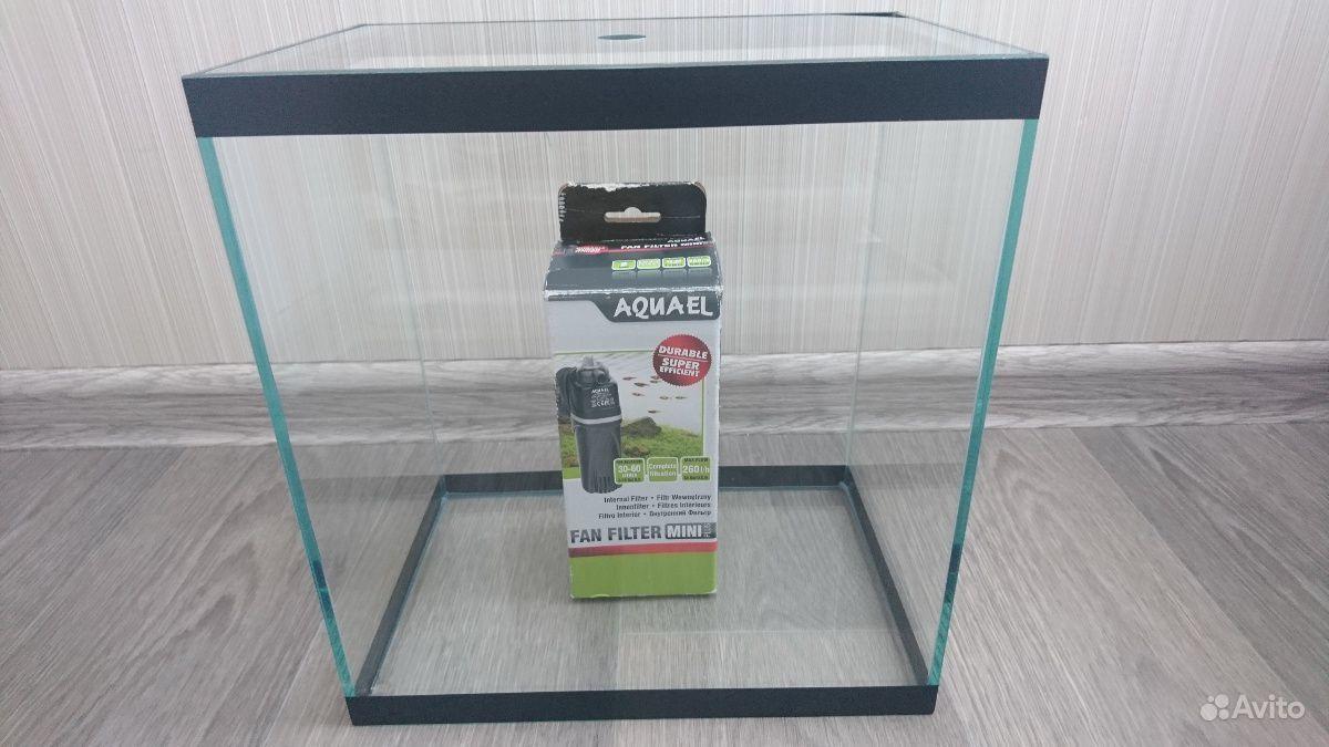 Аквариум с фильтром купить на Зозу.ру - фотография № 1