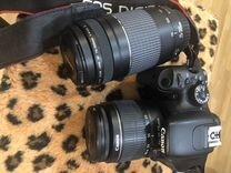 Зеркальный фотоаппарат Canon EOS 550 D ds126271 — Фототехника в Москве
