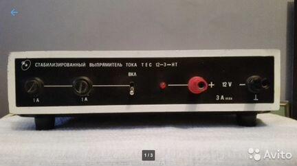 Стабилизированный выпрямитель тока TEC 12-3-HT объявление продам