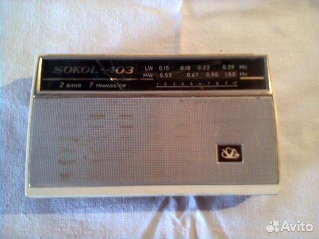 Радиоприёмник сокол 403 купить