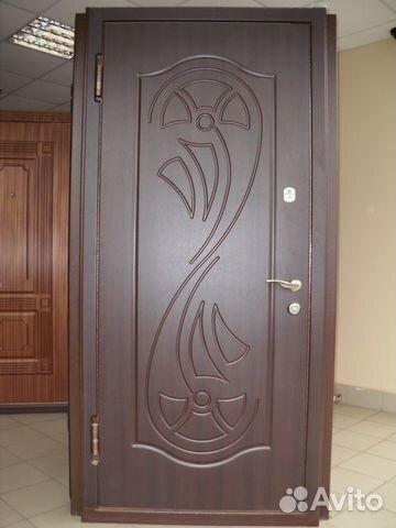 купить металлическую двухстворчатую дверь дешево