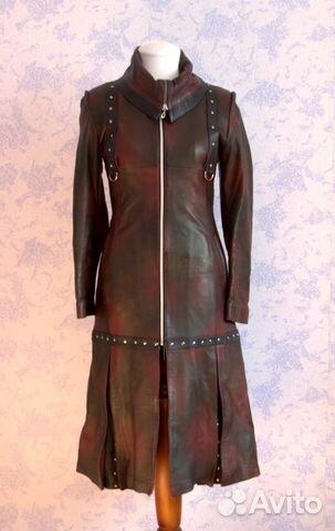Купить кожаный плащ женский в хабаровске купить kenzo violet в украине