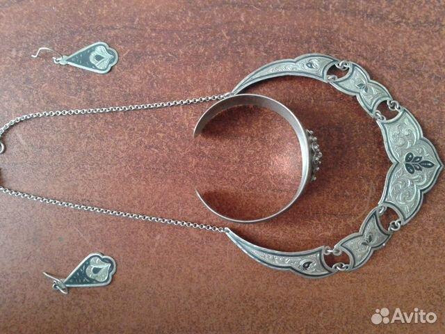 Купить серебренные украшения в дербенте с рук авито