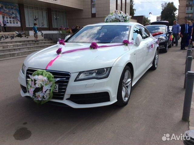 Прокат авто с водителем на свадьбу в москве
