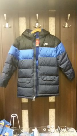 cd6a4128 Спортивная зимняя куртка nike для мальчика купить в Московской ...