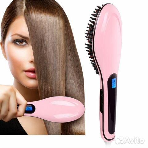 Расческа-выпрямитель fast hair straightener— фотография №1