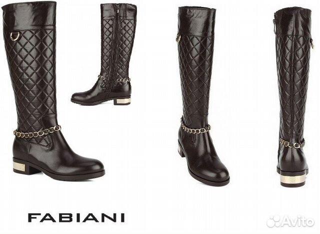 8c5c4297b Итальянские женские сапоги fabiani купить в Москве на Avito ...