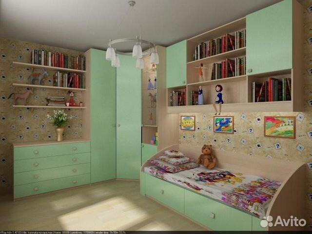 Детская угловая любого цвета купить в Челябинской области на.