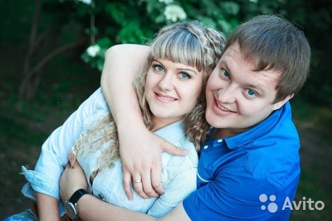 фото молодой семейной пары
