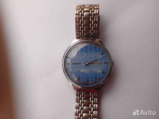9832ac1f Часы Ракета Вечный Календарь рабочие | Festima.Ru - Мониторинг ...