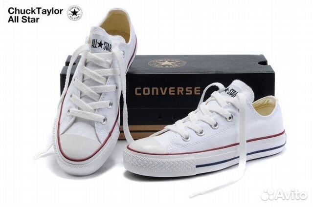 Кеды Converse All Star белые новые купить в Санкт-Петербурге на ... f08a700b01b8e