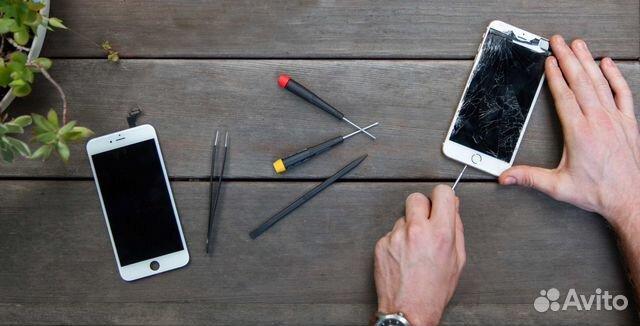 iphone замена стекла пражская