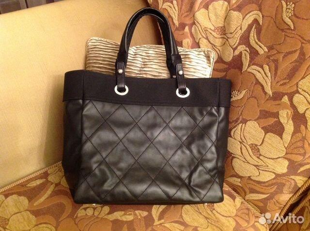 09271d42754a Сумочка женская марки Chanel чёрная купить в Москве на Avito ...