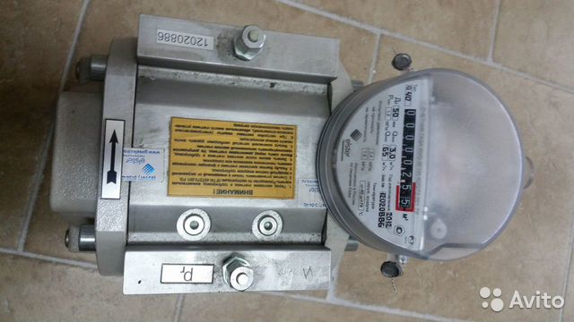 счетчик газа ротационный RVG 40