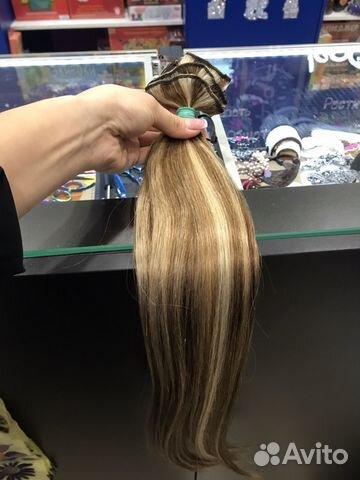 Волосы на заколках купить 3