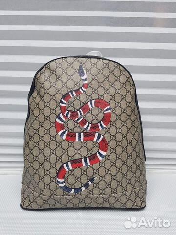 Рюкзак Gucci канва кожа   Festima.Ru - Мониторинг объявлений 2aee9b6c901