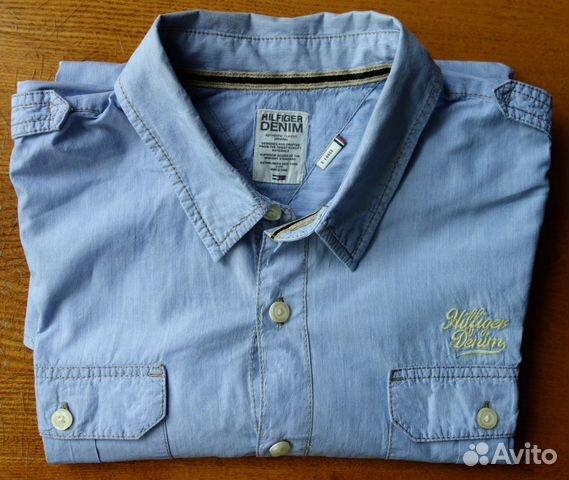 Мужская рубашка Tommy Hilfiger 30dc59bc2a1b0