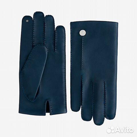 2b6171b2e2dd Перчатки Hermes Nervure (синие, оригинал) купить в Москве на Avito ...