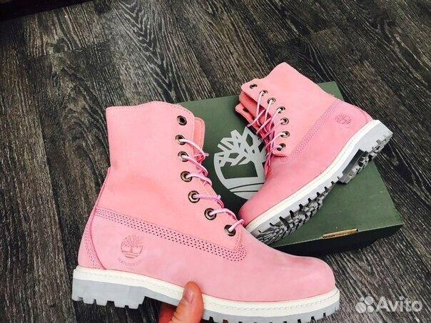 Ботинки Зимние с мехом Розовые Pink (36-40) купить в Москве на Avito ... 5fe2894ce39