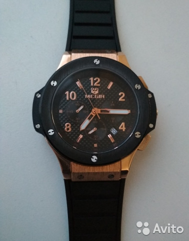570d2115 Часы наручные мужские megir купить в Алтайском крае на Avito ...