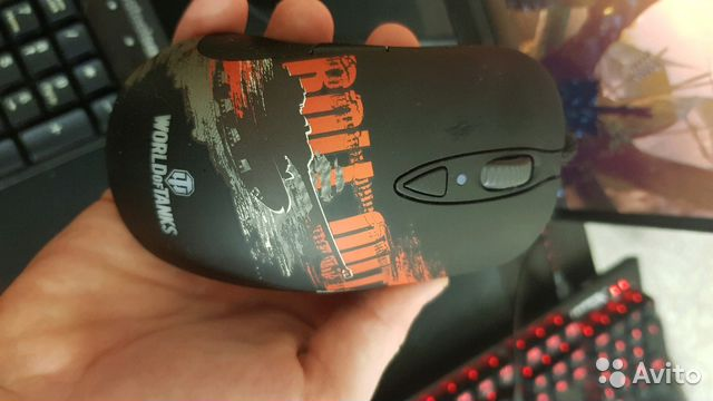 Игровая мышь Steelseries Sensei RAW WoT