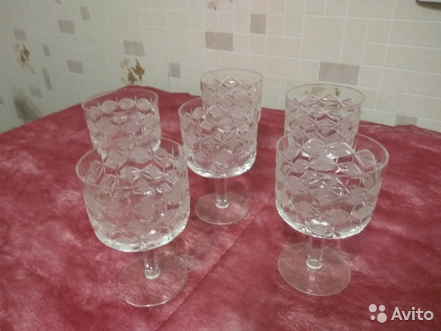 Хрустальные вазы,салатники,бокалы 89534656290 купить 10