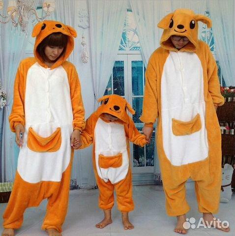 Пижама кигуруми в виде Кенгуру на рост 158 - 165  270304c2174a2