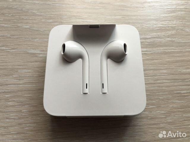 проводные наушники Apple Earpods новые оригинал купить в москве на