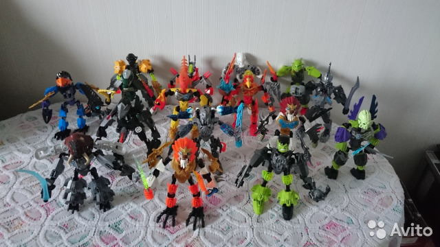 89525003388 Игрушка Робот из коллекции lego bionicle