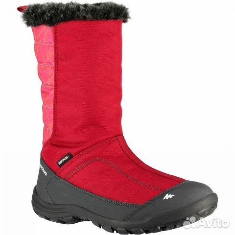 029d7bd7 Сапоги Водонепроницаемые зимние quechua | Festima.Ru - Мониторинг ...