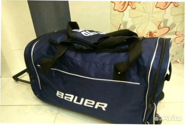 fca4d2ceab79 Сумма хоккейная Bauer Wheel Large на колесах | Festima.Ru ...