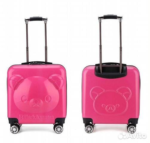 d19fffe2da27 Детский чемодан rilakkuma (рилаккума) розовый - Личные вещи, Товары для  детей и игрушки - Москва - Объявления на сайте Авито