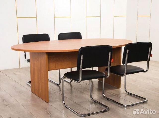 46cdae181a0ac Новый стол для совещаний переговоров вишня купить в Санкт-Петербурге ...